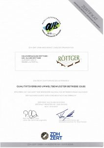 Zertifikat QUB